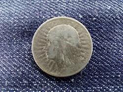 Lengyelország .750 ezüst 2 Zloty 1933/id 9512/