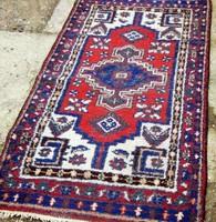 Iráni Heriz szőnyeg , kézi csomózású ,