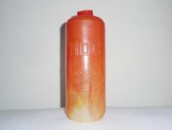 Retro ÁFOR olaj műanyag flakon palack - Ásványolajforgalmi Vállalat  - MDC motorolaj