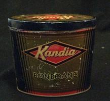 Kandia fém bonbonos doboz