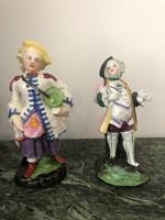 Antik porcelán pár