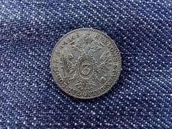 Ausztria V. Ferdinánd (1835-1848) .346 ezüst 3 Krajcár 1848 A/id 9379/