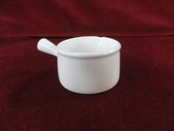 Francia porcelán tejkiöntő, fehér színű.