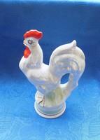 Jelzett orosz porcelán kakas formájú kiöntő ritkaság (po-2)