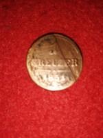 1851 - es  1 krajcár