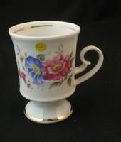 Hollóházi porcelán füles pohár