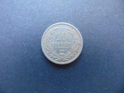 10 fillér 1908 K.B.