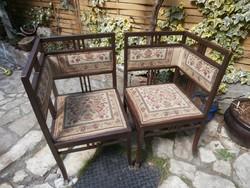 Antik szék, sarokszék,  /gondolkodó szék/