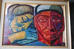 Józsa János festőművész Pár
