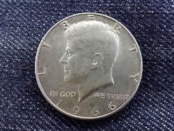 USA Kennedy .400 ezüst 50 Cent 1966/id 9367/