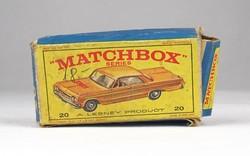 0X329 MATCHBOX Superfast Taxi Cab doboz