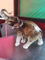 Royal Dux nagyméretű elefánt