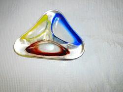 F. Zemek  cseh üveg -az anyagában színes (nem festett)