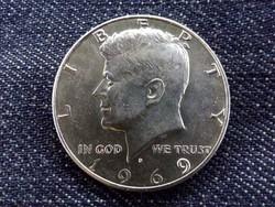 USA Kennedy .400 ezüst 50 Cent 1969 D/id 9368/