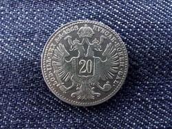 Ausztria Ferenc József .500 ezüst 20 Krajcár 1868/id 9377/
