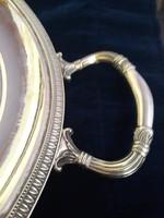 Hatalmas ezüst tálca 1885 g