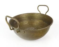 0X283 Antik réz cukrászati eszköz habüst