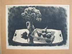 Kórusz Jószef (1927- ) - Gyümölcsök fényben