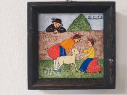 Vankóné Dudás Juli falikép