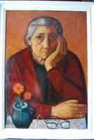 Józsa János festőművész Anyám