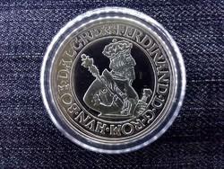 Magyar tallérok utánveretben I. Ferdinánd tallérja 1556 .999 ezüst PP/id 10020/