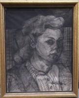 Ismeretlen művész: Kubista Női portré