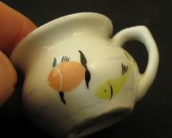 Minibili - Balatonszabadi felirattal - aquincumi porcelán