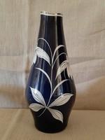 Spechtsbrunn kézi festésű német porcelán váza 50-60 évek