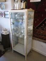 Indusztriális,loft,vintage vas vitrin