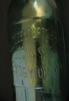 Pesterzsébeti jódos- sós gyógyforrás üveg - ritka