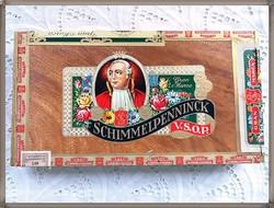 Schimmelpenninck V.S.O.P fa szivaros doboz 2.