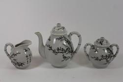 3 részes kínai teáskészlet