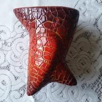 Zsolnay art deco madár váza  ,