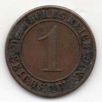 Németország 1 német birodalmi pfennig, 1935D