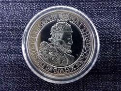 Magyar tallérok utánveretben II. Mátyás tallérja .999 ezüst PP/id 10021/