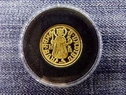 Magyar aranypénzek utánveretben I. Albert aranyforint .333 ezüst PP/id 10009/
