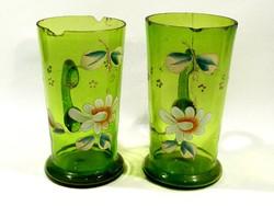 Kézzel festett pohár pár
