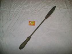 Régi forrasztó páka - 52 cm