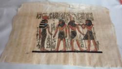 Egyiptomi papirusz kép, 34 x 24 cm