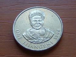 SWAZILAND SZVÁZIFÖLD 1 LILANGENI 1998 #