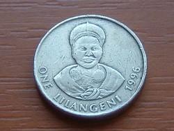 SWAZILAND SZVÁZIFÖLD 1 LILANGENI 1996 #