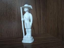 Óherendi, jelzett, antik (1930-as évek), talapzaton álló, cserkész / katona mini figura eladó