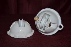Zsolnay öttornyos jelzésű lámpa függeszték  ( DBZ 00116 )