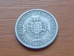 PORTUGÁL MOZAMBIK 2,5 ESCUDOS 1965 #