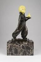0X416 Preifs : Orientalista bronz szobor 26 cm