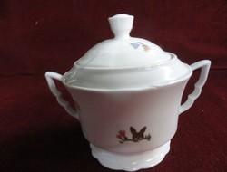 Zsolnay porcelán. Manófüles cukortartó. Teás készlethez.