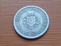 PORTUGÁL MOZAMBIK 2,5 ESCUDOS 1952 #