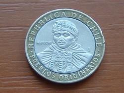 CHILE 100 PESOS 2005 BIMETÁL #
