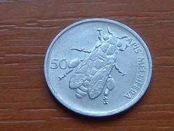 SZLOVÉNIA 50 STOTINOV 1992 (KÖRMÖCBÁNYA) MÉH ALU. #