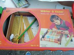 Méter á tisser képeken látható állapotban dobozában gyűjteményből